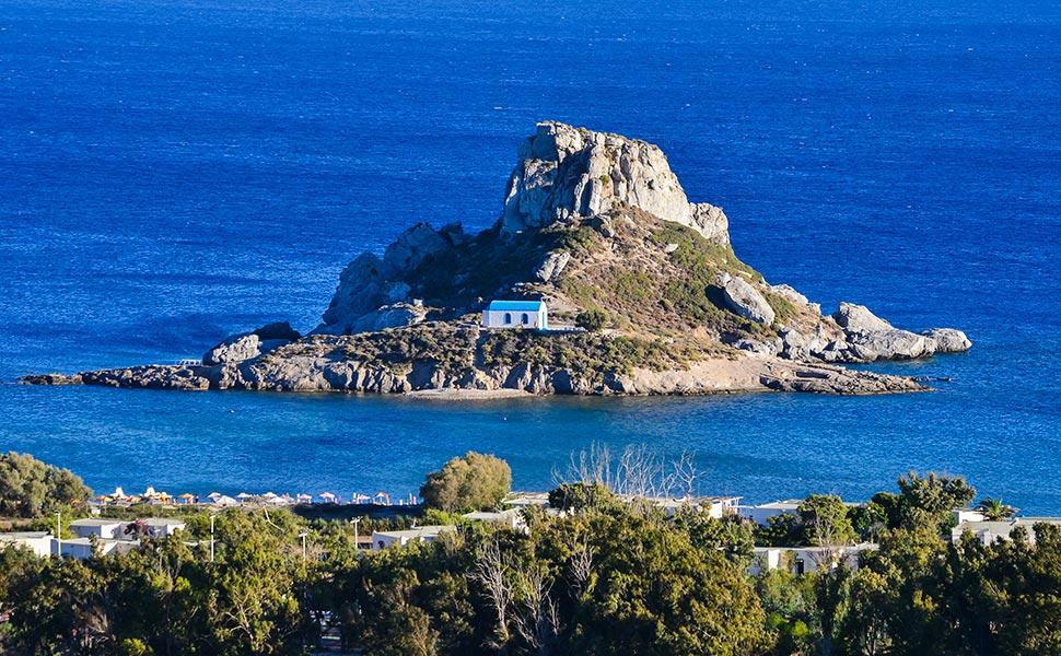 islet Kastri Kefalos