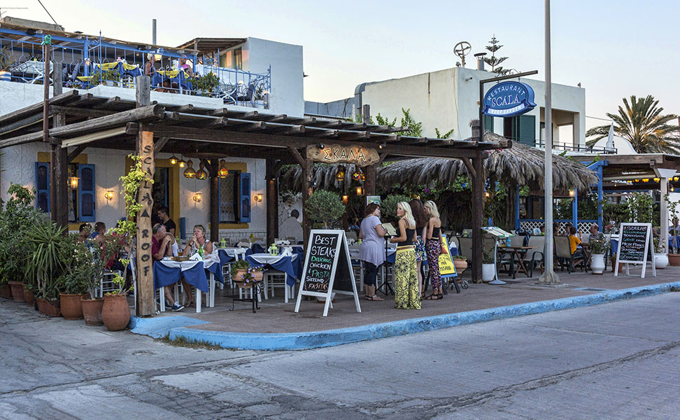 restaurants in Kardamena - Kos Island