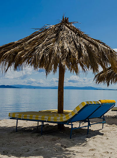 Tigaki beach in kos ideal for families