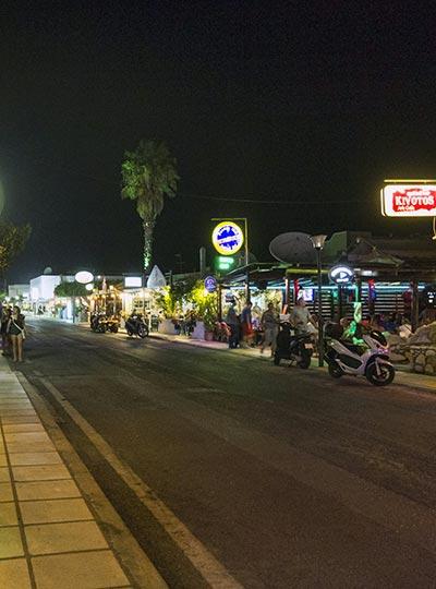 Tigaki by night