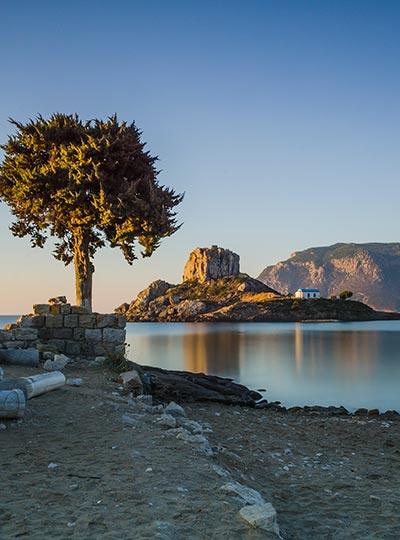 Agios stefanos beach in Kefalos - Kos Island