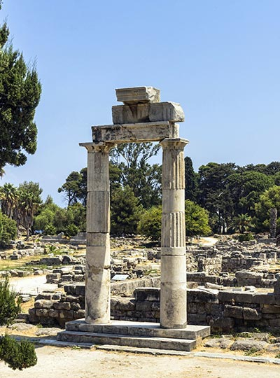 Altar Dionysus - Kos Historical sites