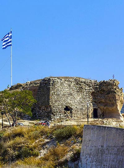 Kos Historical sites - Kefalos castle