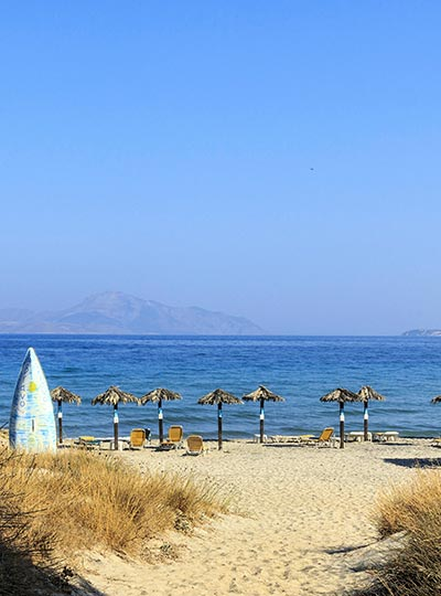 Mastichari Beach in Kos Island - Greece