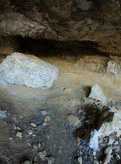 White Stone Cave - Aspri Petra