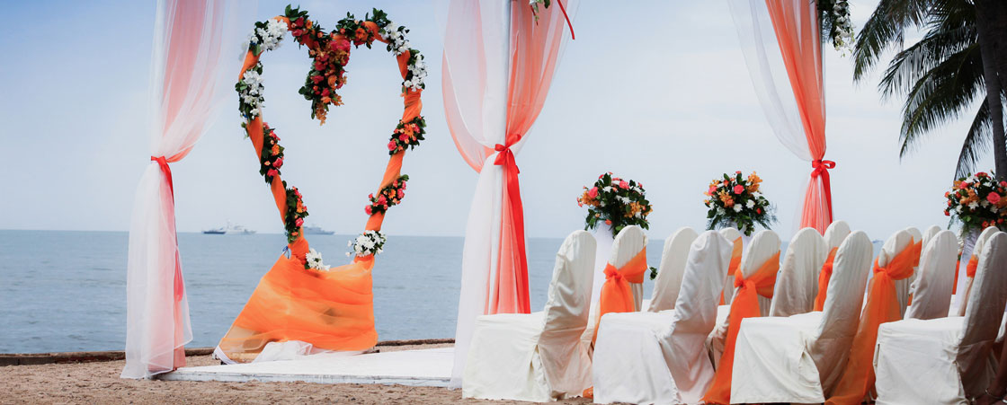 Kos beach wedding ceremony