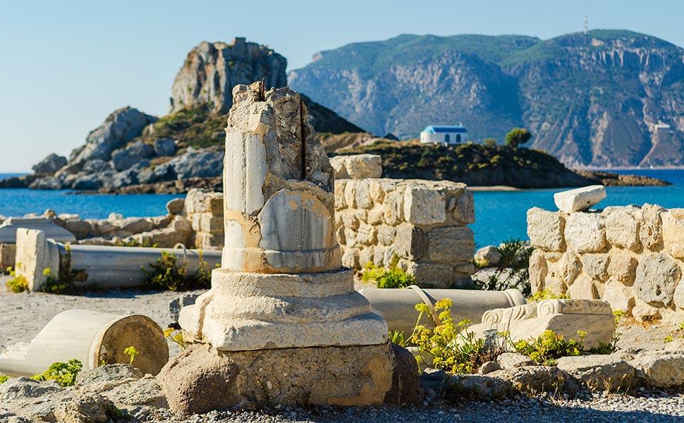 Christian Basilica of Agios Stefanos Kos