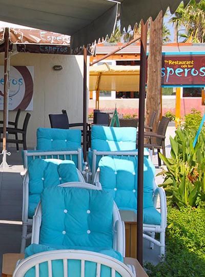 Esperos Restaurant in Tigaki