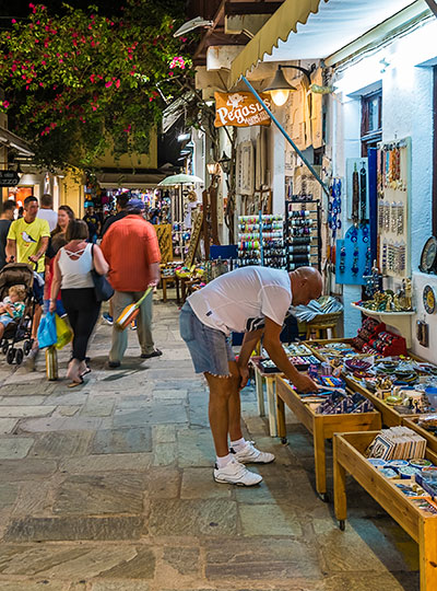 Walk through Old Town of Kos island, Greece | Kos4all.com