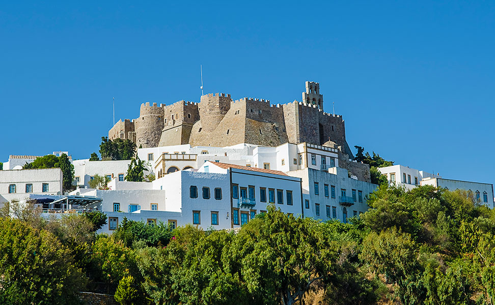 Patmos island in Greece