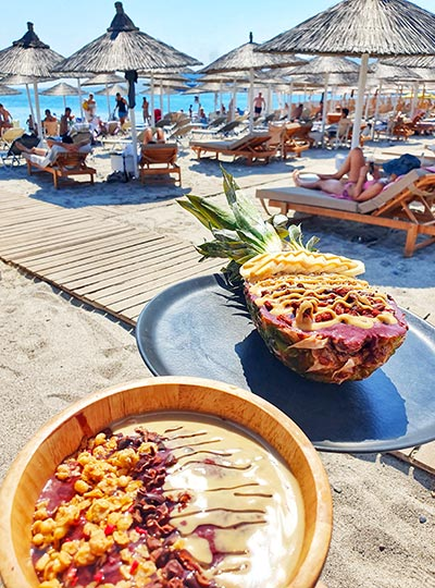 Alibaba beach bar in kos akti zouroudi