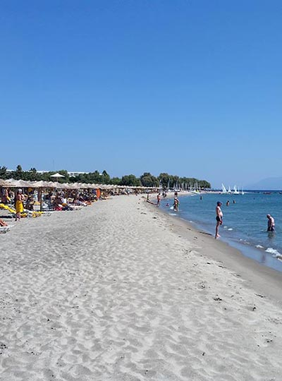 Helona beach - Sandy beach at Kardamena