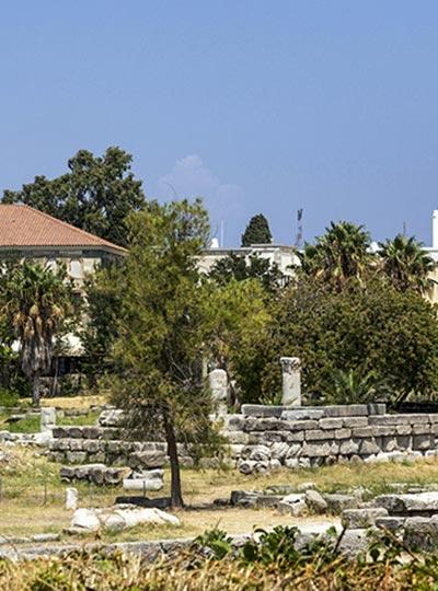 Ancient Agora Kos - harbor