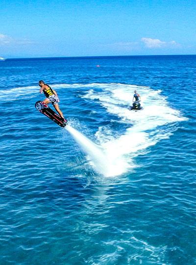 Flyboard -Waterpsorts in Kos Island