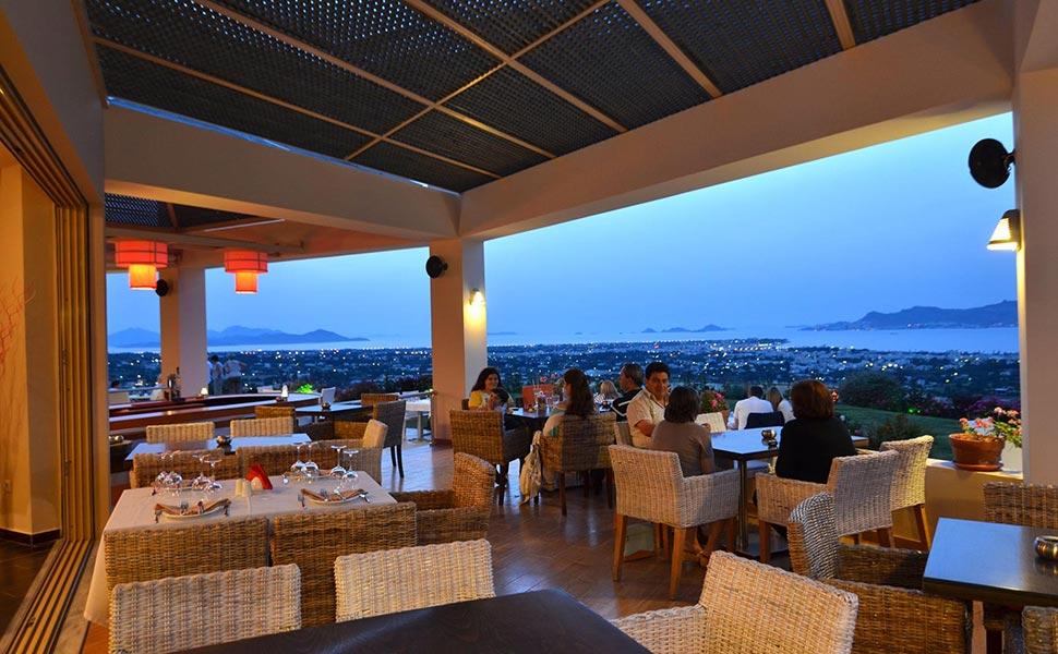 Lofaki cafe restaurant kos dinning for Kos milano ristorante