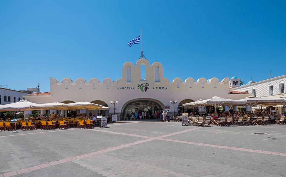 Municipal Market of Kos Agora Indoor Market Kos4allcom